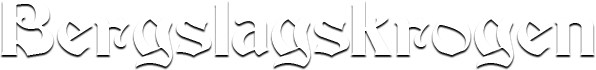 Bergslagskrogen logotyp